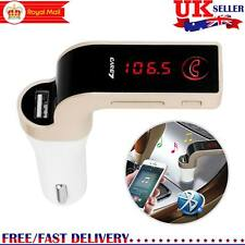 Wireless Bluetooth Car Handsfree AUX LCD Kit MP3 FM Transmitter USB Charger