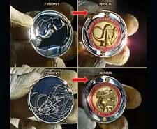 Mighty metal morphin power black Rangers coins ninjetti ninja Zord Jones walter