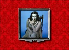 LILY MUNSTER BLUE VAMPIRE GOTH HORROR MAKEUP POCKET COMPACT MIRROR