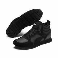 Puma Vista Mid Wtr Shoes High Trainers Padded 369783 Black