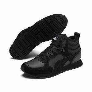 Puma VISTA MID WTR Schuhe hohe Sneaker gefüttert 369783 Schwarz