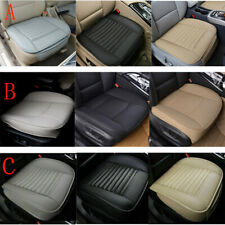 US - Car PU Leather Front Seat Cover Breathable Protector Chair Cushion Pad Mat