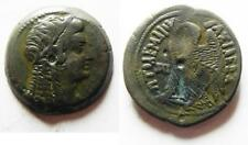 ZURQIEH -as5571- PTOLEMAIC EMPIRE. PTOLEMY VI 180-145 BC. AE28 . WITH ISIS