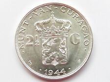 L1619     NIEDERLANDE / CURACAO 2 1/2 Gulden1944