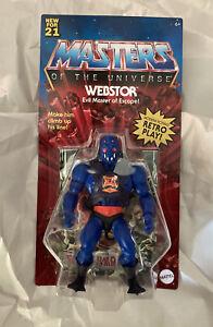 MOTU Origins WEBSTOR Wave 6 Retro Action Figure Masters Of The Universe He-Man