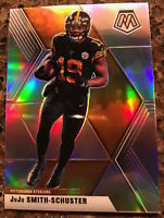 2020 PANINI - MOSAIC JuJu SMITH-SCHUSTER SILVER PRISM NO.169 PITTSBURGH STEELERS