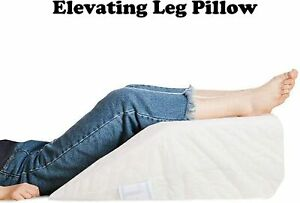Elevating Foam Leg Pillow Bed Back Pain Hip Leg & Knee Support Wedge Sciatica