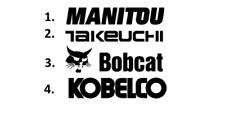 Sticker, aufkleber, decal - MANITOU TAKEUCHI BOBCAT KOBELCO 50 70 100 cm