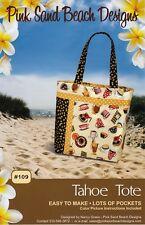 Tahoe Tote, Pink Sand Beach Designs, DIY Tote Bag Pattern