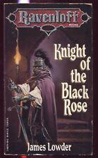 Knight Of The Black Rose (paperback) Ravenloft Book 2 James Lowder