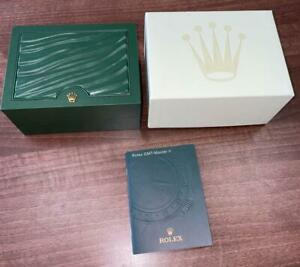 ROLEX GMT MASTER II 2008 COLLECTORS SMALL WATCH BOX W/BOOKLET MH040