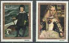 Timbres Arts Tableaux UNICEF Dahomey PA154/5 * lot 26819
