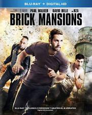 New Sealed Brick Mansions (Blu-ray Disc, Digital HD, 2014)k1 Paul Walker Rza