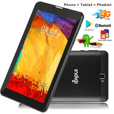 """7.0"""" Phablet Android 9.0 Pie 4G LTE SmartPhone TabletPC Google Play Store Black"""