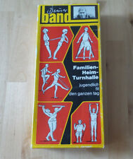 Original Deuserband Training Band Red Black in original box with instructions 60er years