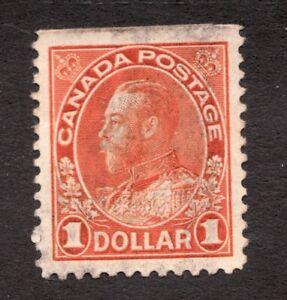 #122 - Canada - 1925 - $1 - Used - VF Superb -  superfleas
