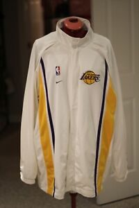 L A Lakers sweater jacket, snap button front , long sleeve Size Large Jacket