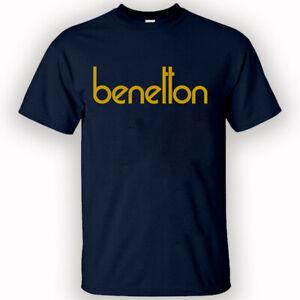 BENETTON Tshirt Women/Men Size S-2XL Clothing Short Sleave