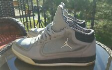 Nike Air Jordan Post Game Men's Basketball Shoes, 552665-004, Size 11, Gray