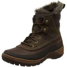 Merrell Sylva Mid Lace Waterproof Ankle Boots Size 5M Brown Tan J02094 Winter