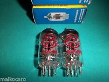 2x ECC81 JJ-ELECTRONIC 12AT7 COPPIA DUET PAIR tubes tube valvole NUOVE MATCHED