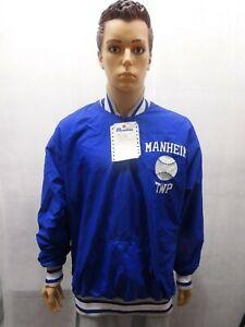 NWT Manheim Township Baseball 1/4 zip pullover Jacket PA 48