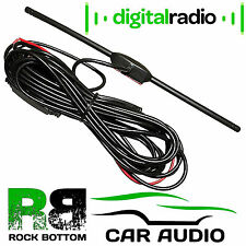 In Car Digital Freeview DVBT TV Tuner T-Bar Non Amplified Aerial Antenna
