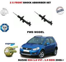 Para Suzuki SX4 1.6 1.9 Ddis 2WD Modelo 2006- > 2x Amortiguador Delantero Juego