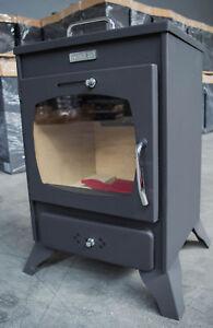 Wood Burning Stove Log Burner Solid Fuel Small Oven  KUPRO - VALENCIANA 8 KW