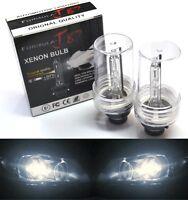 HID Xenon D2S Two Bulbs Head Light 4300K Stock Bi-Xenon Replace Lamp Low Beam