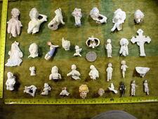 33 x Uralte Puppenteile beschädigt alter 1890 Bodenfund mixed media altered Art