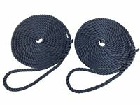 Mooring Ropes, Warps, Lines, Yachts/Canal  Softline Rope - Services Pack of 2.