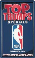TOP TRUMPS SPECIALS NBA BASKETBALL CARD PICK SINGLE CARD YOUR CHOICE