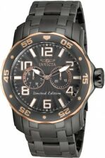 Invicta 17782 Pro Diver Limited Edition Gunmetal And Rose Gold Watch