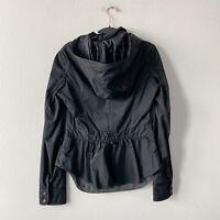 RARE Lululemon Women's Sz 6 Black Out And About Short Jacket Peplum Back Fall