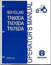 Manual heavy equipment parts accessories for new holland ebay new holland tn60da tn70da tn75da tractor operators manual fandeluxe Image collections