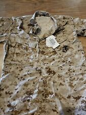 USMC Desert MARPAT DIgital Camo Blouse Med / Reg w/ bug repellent w/ tags