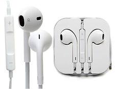 Original Apple iPhone 5 5S Auriculares Audífonos Manos libres Con Micro