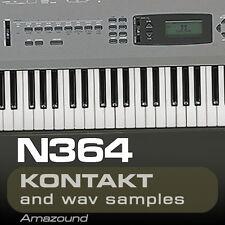 KORG N364 SAMPLES for KONTAKT 77 NKI + 1119 WAV 24BIT MAC PC MPC LOGIC CUBASE FL