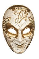 Maske Venice maestro Mask maschera máscara venezianisch gold-cremeweiß