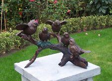 Bronzeskulptur,Vögel,Statuen,Gartenfigur,Dekor,Tierfigur,Garten,