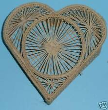 "WHOLESALE CASE LOT OF 50  6"" COLOMBIAN PALM HEART BOXES"