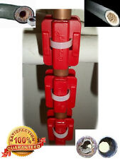 3 x Magnetic Descaler/ Limescale Remover/ Water Conditioner/ Water SOFTENER(RED)