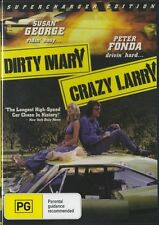 DIRTY MARY CRAZY LARRY - PETER FONDA - NEW & SEALED DVD - FREE LOCAL POST