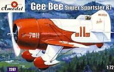 Amodel - Gee Bee Super Sportster R1 inkl. Decals Modell-Bausatz 1:72 NEU OVP kit