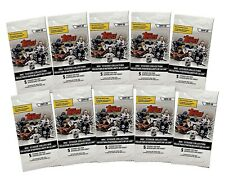 2019-20 Topps NHL Hockey Stickers 10 Packs of 5 for 50 stickers