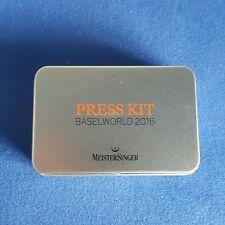 Press Kit Baselworld 2016 MeisterSinger As good as new