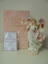Roman Seraphim Classics Hope Figurine Light In Distance Breast Cancer Awareness