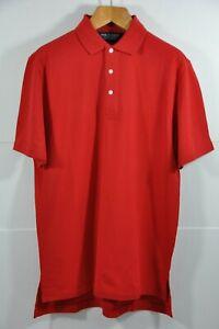 Men's Ralph Lauren GOLF, LT.WT. STRETCH COTTON MESH POLO, Size M -Tailored Fit