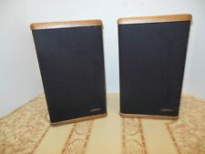 Mini Advent Speakers Wood Cabinet Sound Great